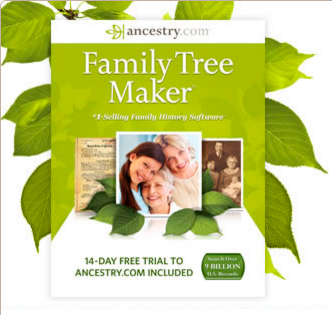 Family Tree Maker reklame
